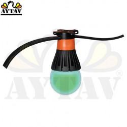 Лед лампа ILU-MAX 8 W (зелена)