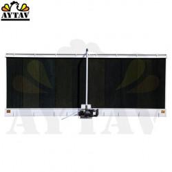 Охладителен панел с пластмасова рамка
