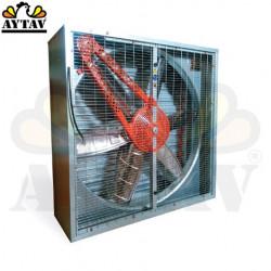 Вентилатор с жалюзи - 140 х 140 см.
