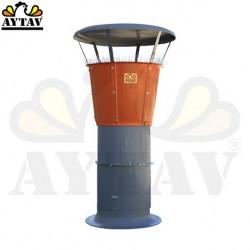 Билен пластмасов вентилатор