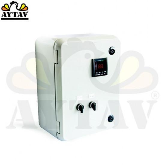 Контролно табло на клапите за въздух