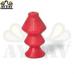 Единична вакумна пластмаса за яйца (червена)
